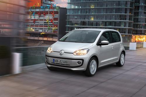 2012 Volkswagen up! 4-дверный
