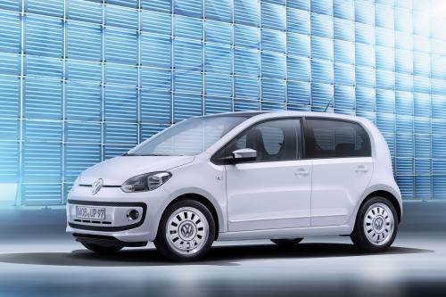 2012 Volkswagen up! 5-дверный