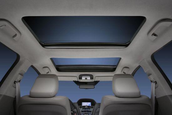 Acura ZDX facelift