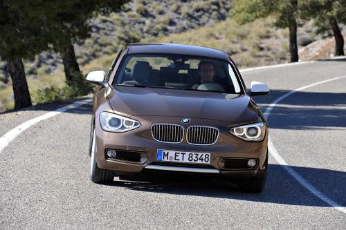 BMW выходит с новой трехдверной 2013 BMW 1 серии