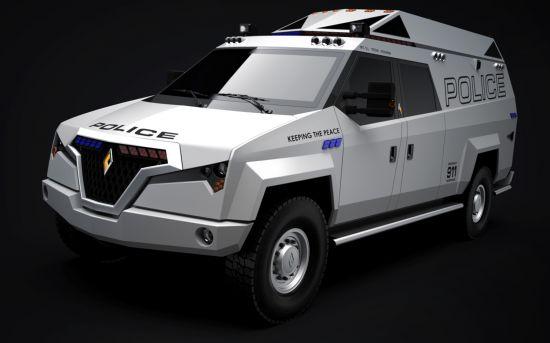 Carbon Motors TX7 MMV
