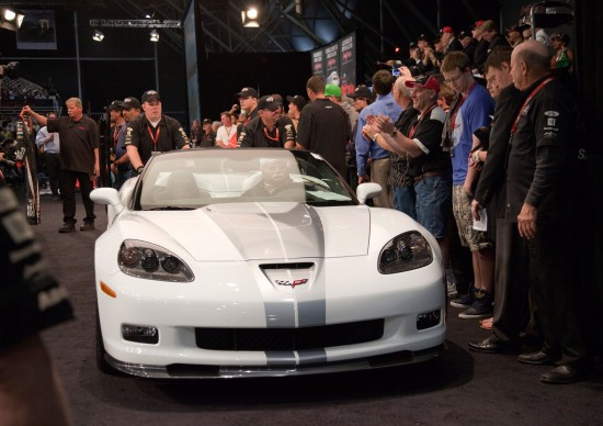 Corvette 427 Convertible at Barrett-Jackson