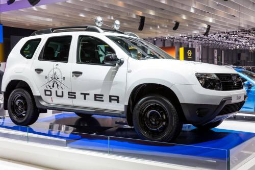 2013 Geneva Motor Show: Dacia Duster Adventure Edition