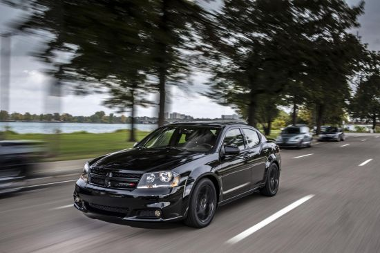 Dodge Avenger Blacktop package
