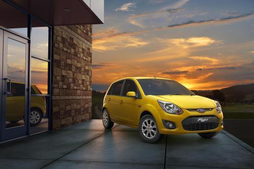 2013 Ford Figo добавляет новые элементы дизайна и интеллектуальные функции