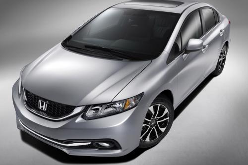 2013 Honda Civic дебютирует в Лос-Анджелесе Auto Show