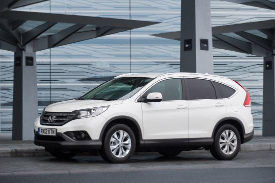 Honda CR-V Euro NCAP Crash Test