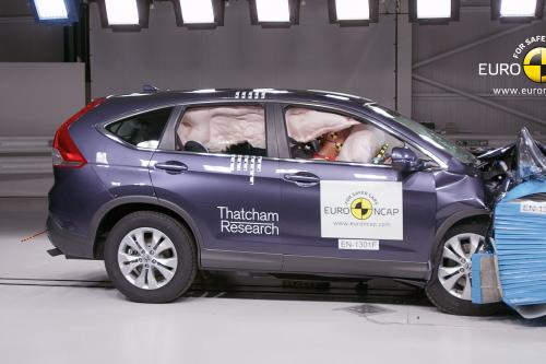 2013 Honda CR-V - 5 звезд в Euro NCAP краш-тест