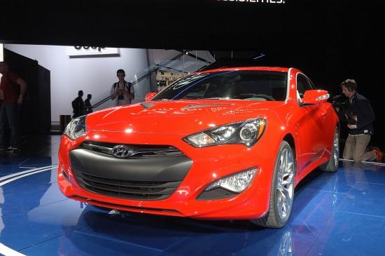 2013 Hyundai Genesis Coupe Detroit