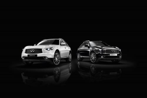 2013 Infiniti FX Black and White, 1 of 9