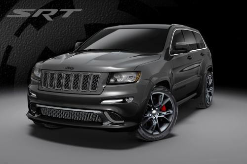 2013 Jeep Grand Cherokee SRT8 [видео]