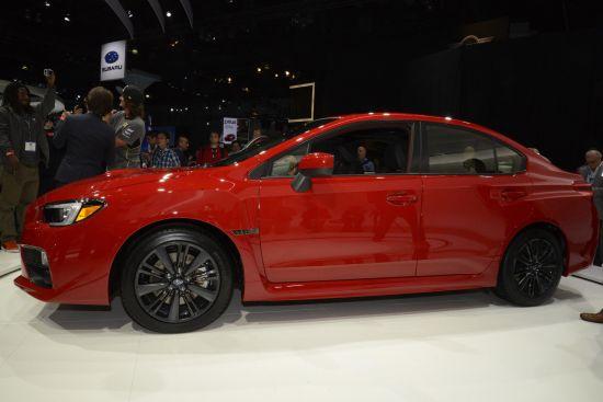 LA Auto Show Subaru WRX