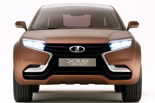 Lada X-Ray Concept 3D
