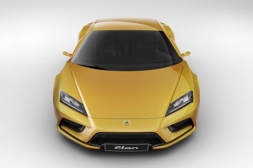 2013 Lotus Elan представила на Парижском автосалоне