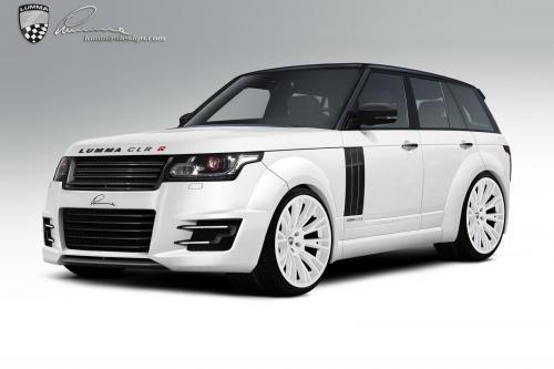 Lumma Design в 2013 году представляет новый дизайн Range Rover CLR-R. Смотрите эксклюзивные фотографии.