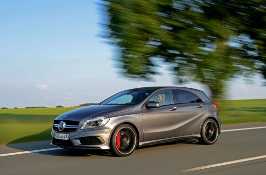 Mercedes-Benz A 45 AMG UK
