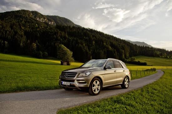 Mercedes-Benz ML 500 4MATIC BlueEFFICIENCY