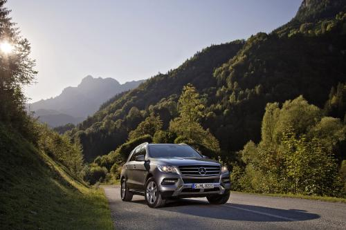 2013 Mercedes-Benz ML 500 4MATIC BlueEFFICIENCY - объявил ценообразования