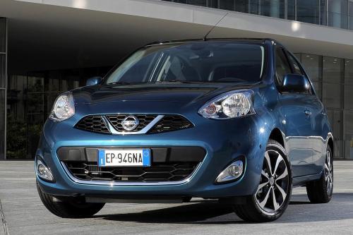 2013 Nissan Micra Подтяжка Лица