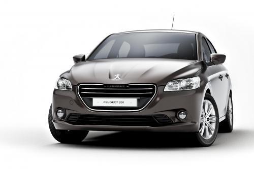 2013 Peugeot 301 - новый компактный четырехдверный седан