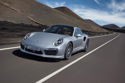 Премьера 2013 Porsche 911 Turbo И Turbo S