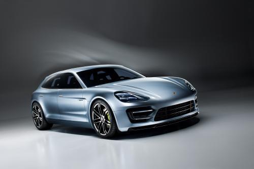 Porsche Panamera Sport Turismo – Новый концепт кар от Порш. Фотографии в высоком разрешении