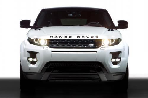 Geneva Motor Show: Range Rover Evoque С Black Design Pack