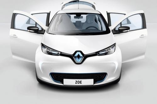 Выбросы бесплатно: Renault ZOE 2013