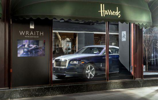 Rolls-Royce Wraith UK