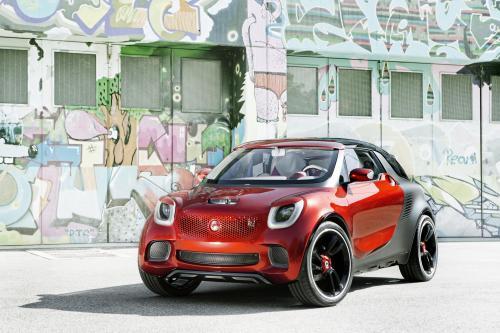 2013 Smart Forstars делает мировую премьеру на Парижском автосалоне