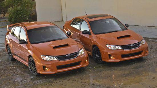 Subaru WRX Special Editions