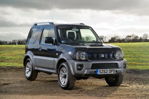 2013 Suzuki Jimny - новое лицо и лучшее оборудование