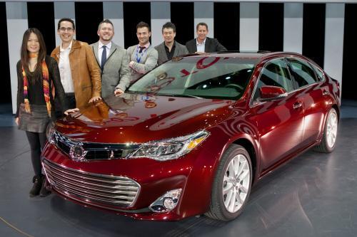 Toyota Avalon открыл в Нью-Йорке