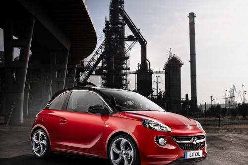 2013 Vauxhall Adam: первые официальные изображения выявлено