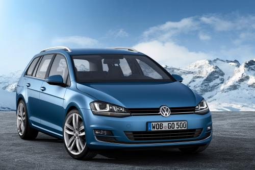 Geneva Motor Show: 2013 Volkswagen Golf Estate