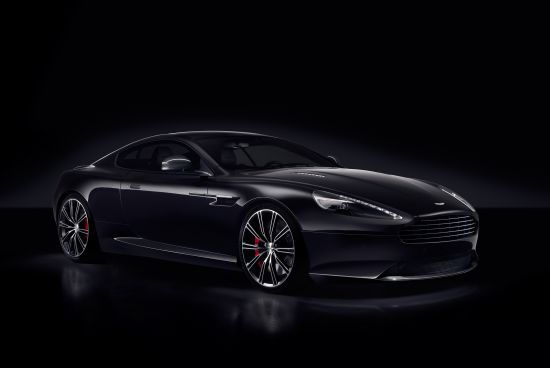 Aston Martin DB9 Carbon Black and Carbon White