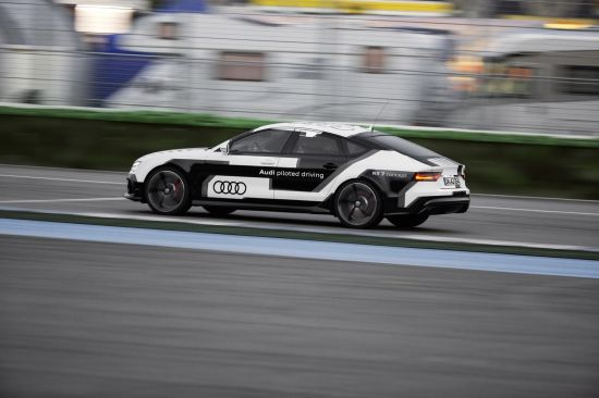 Audi RS 7 Piloted Driving Concept Car