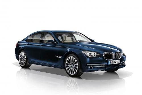 BMW вводит 7-серии эксклюзивное издание