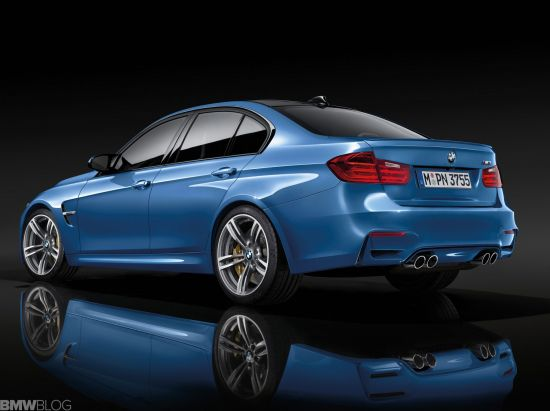 BMW M3 leak