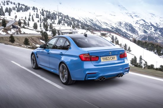 BMW M3 Saloon UK