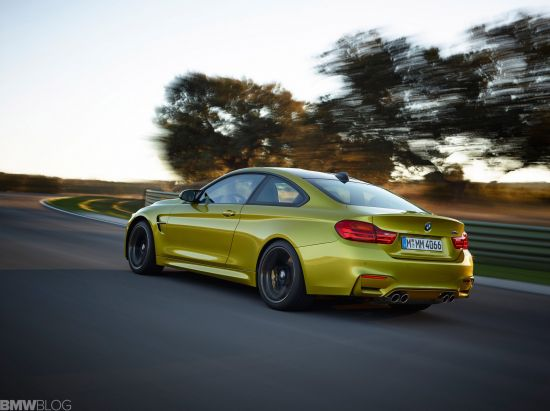 BMW M4 leak