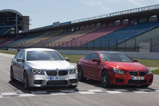 BMW M5 and M6 Coupe Competition Package