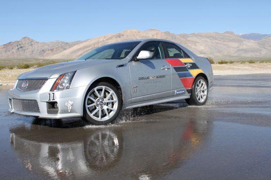 Cadillac CTS at Nurburgring