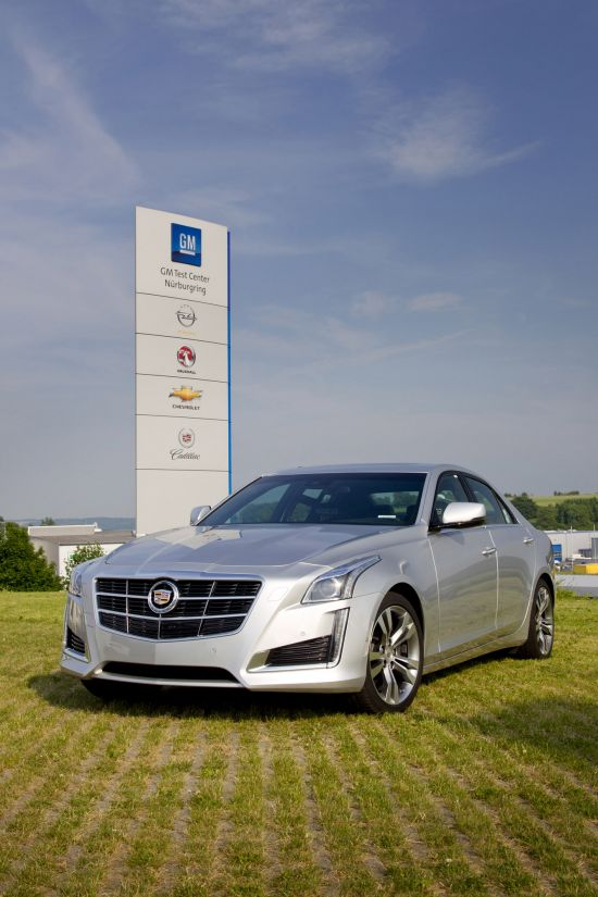 Cadillac CTS at Nurburgring