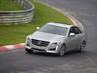 2014 Cadillac CTS at Nurburgring