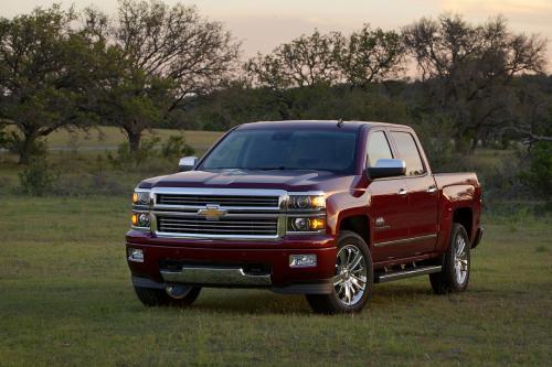 2014 Chevrolet Silverado High Country Предлагает Больше Роскоши