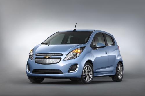 2014 Chevrolet Spark EV представила в преддверии Лос-Анджелесе Auto Show