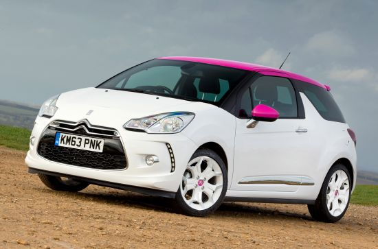 Citroen DS3 Pink Special Editions