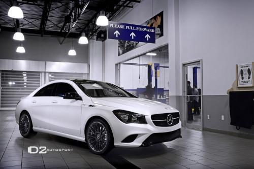 D2Autosport раскрывает 2014 D2Edition Мерседес-Benz CLA250