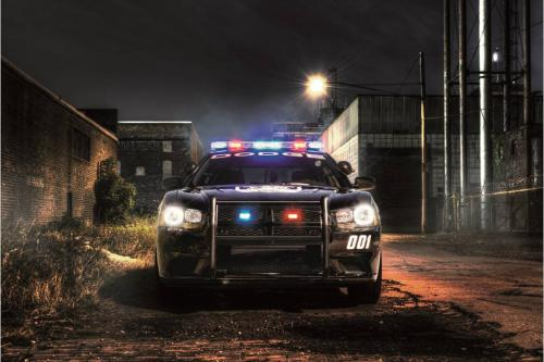 Dodge Charger Pursuit Equipped With Advanced All Wheel